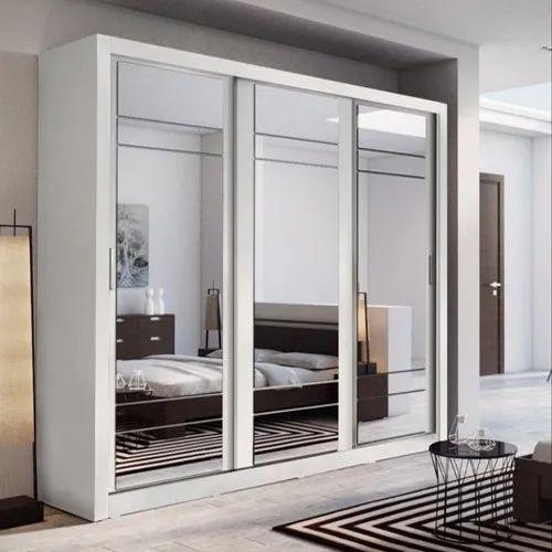 home decor sliding wardrobe world luxury lighting   GHS Metal Sliding Glass Door Wardrobe, For Home, Rs 1500 ...
