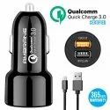 Ambrane Car Charger ACC-11QC