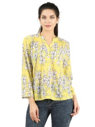 Women Patterned Casual Top