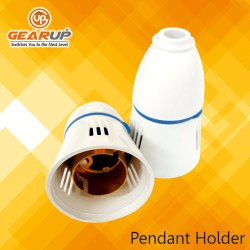White Poly Carbonate Pendant Holder, Packaging Type: Box