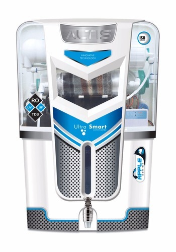 WHITE ABS Plastic ALTIS RO, Capacity: 7.1 L To 14L