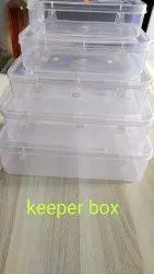 Multipurpose Plastic Box Keeper Series