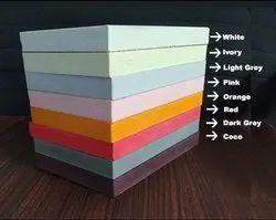 ZEN Multicolor Color pvc sheet, For Commercial, Size: 8 Feet X 4 Feet