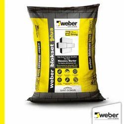 Saint Gobain Weber Blokset Plus Masonry Mortar, Packaging Size: 30 Kg