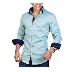 Cotton/Linen Men's Trendy Shirt