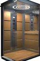 Mild Steel Glass 4 Passenger Lift, Capacity: 2-4 Persons