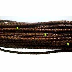 Antique Dark Brown Braided Cords