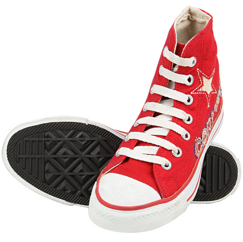 334a6fa6aef8 Converse Unisex Red Casual Shoes 888006 at Rs 779
