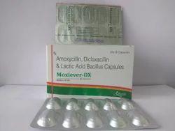 Amoxycillin Dicloxacillin And Lactic Acid Capsules