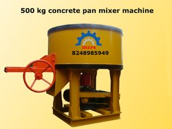 Concrete Pan Mixer Machine