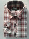 Mens Casual Shirt - Cotton Polyester Mix