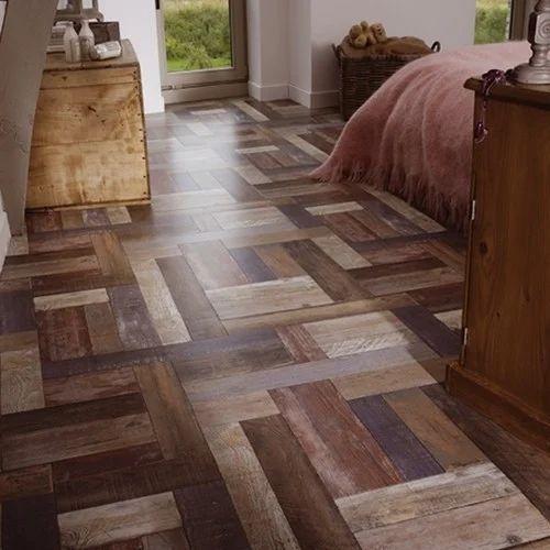 Extrem Brown Cushion Vinyl Flooring, Rs 30 /square feet, Mystic Floorz WJ37