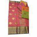 Ladies Cotton Designer Kota Saree, Length: 6 M
