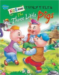 Kids Board Fairy Tales The Three Little Pigs Book