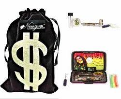 Newzenx Brass Smoking Pipe Smoking Kit Included Full Smoking Accessories