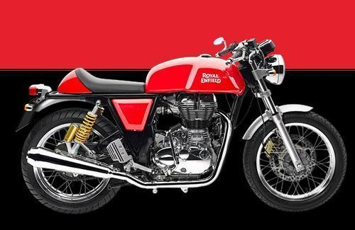 Gt Black And Red Royal Enfield Continental Motorcycle Id 18567303055