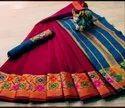 Textilemall Present Heavy Cotton Marvel Sarees