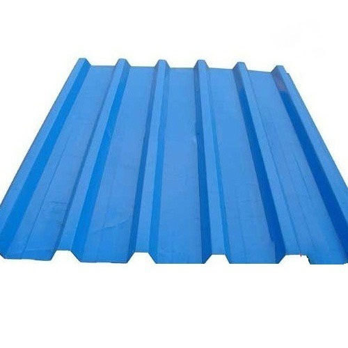 Blue Pre Painted Galvalume Roofing Sheet Features Water