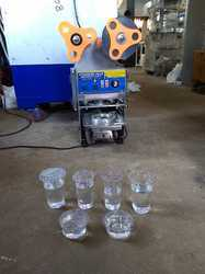 Automatic Disposable Cup Sealing Machine