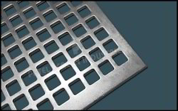 Square Hole Perforated Metal Sheets