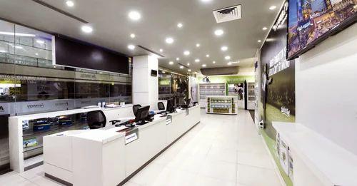 Customized Showroom Interior Designing Service