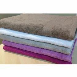 Mauria Cotton Plain Bath Hotel Towels