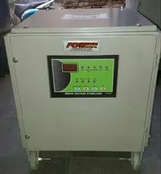 Single Phase Digital controller SERVO VOLTAGE STABILIZER 5 KVA, 160 TO 270 VOLTS, for Commercial
