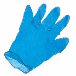 Nitrile Blue Chemical Resistant Gloves
