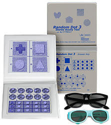 Random Dot 3  Stereo Acuity Test Equipment
