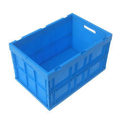 Rectangular HDPE Crates, Dimension: 524 x 369 x 207 mm