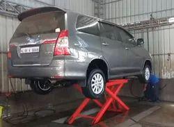 Car Scissor Washing Lift