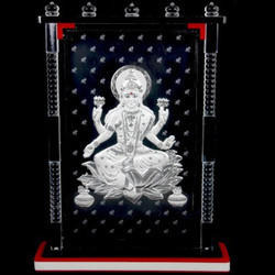 Silver Lakshmi Frame