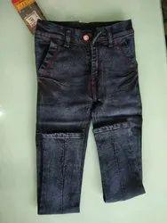 Casual Wear Kids Stretchable Denim Jeans, Handwash