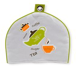 Single Motif Printed Tea Cozy