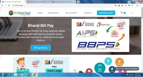 RECHPAY ENTERPRISE Online Recharge, BBPS Bill Payment, PAN Card