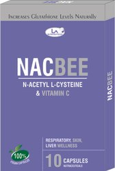 NAC (N-Acetyl L-Cysteine) Capsules with Vitamin C