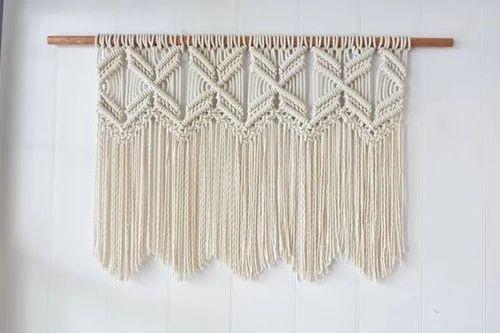 cortina de macrame passo a passo