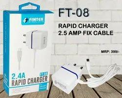 Fintek 1 Meter Travel Rapid Charger, Model Number: FT-09