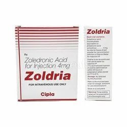 Zoledronic Acid for Injection 4 mg
