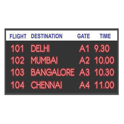 Transport Information Display System