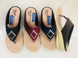 Ladies Ashirwad Flat Casual Slipper, Size: 8 and 10
