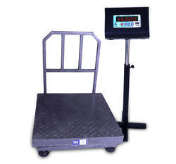 Heavy Digital Platform Scale 500Kg Platter Size:750-750MM