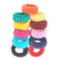 Colored Silk Hair Rubber Band