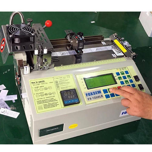 Label Cutting Machine With Hot Cutting