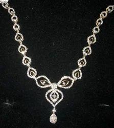 Natural Diamond Necklace (DJ-N4)