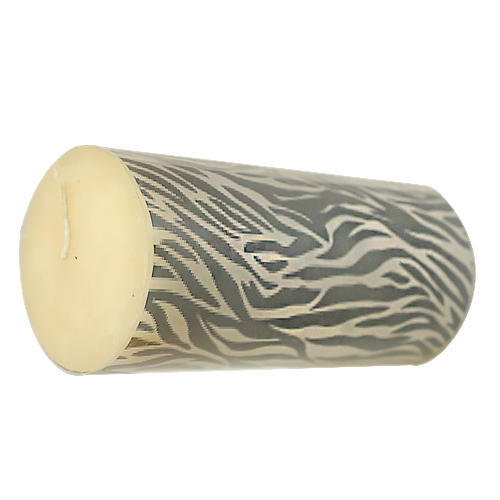 Zebra Candle, Oil Burning Candle, डेकोरेटिव कैंडल्स ...