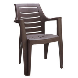 Plastic Brown Chair