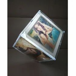 Revolving LED Light Photo Frame