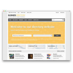 Directory And Listing Website Development Service