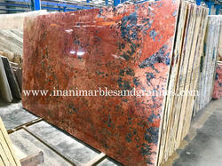 Bordeaux Juparana Granite